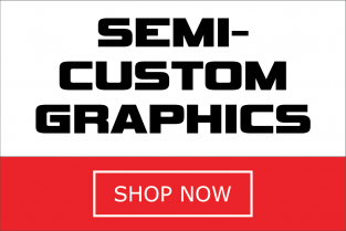 Semi-Custom Bike Graphics Kits